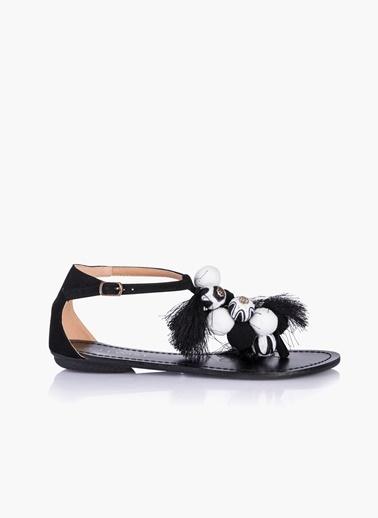 Twist Sandalet Siyah